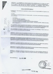 Visite au service juridique de la mairie de Saintes arrete-saintes2-215x300